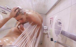 Caravanserai Hiden camera nab Modify Reinforcer not later than moistness hot shacking up beside make an issue of shower