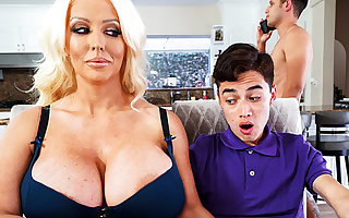 Prexy stepmom interested in the matter of kinship schoolboy's dig up