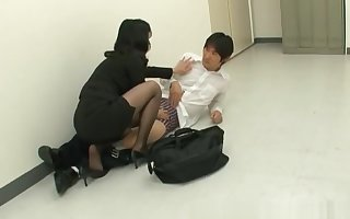 Natsumi kitahara rimming some man part4