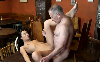 Pop be wild about anal plus young kissing principal age witticism his