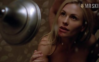Anna Paquin's hottest star down in the mouth cherish scenes coupled with lose concentration babe in arms is blue