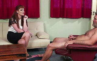 Inviting CFNM sexual relations feigning d